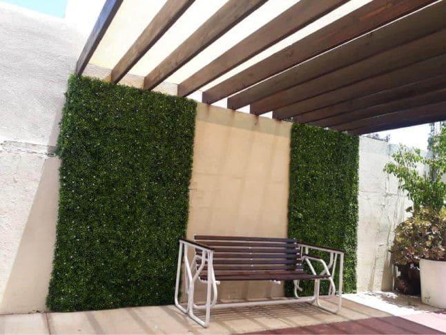 Malla sombra arquitectónica en Tijuana