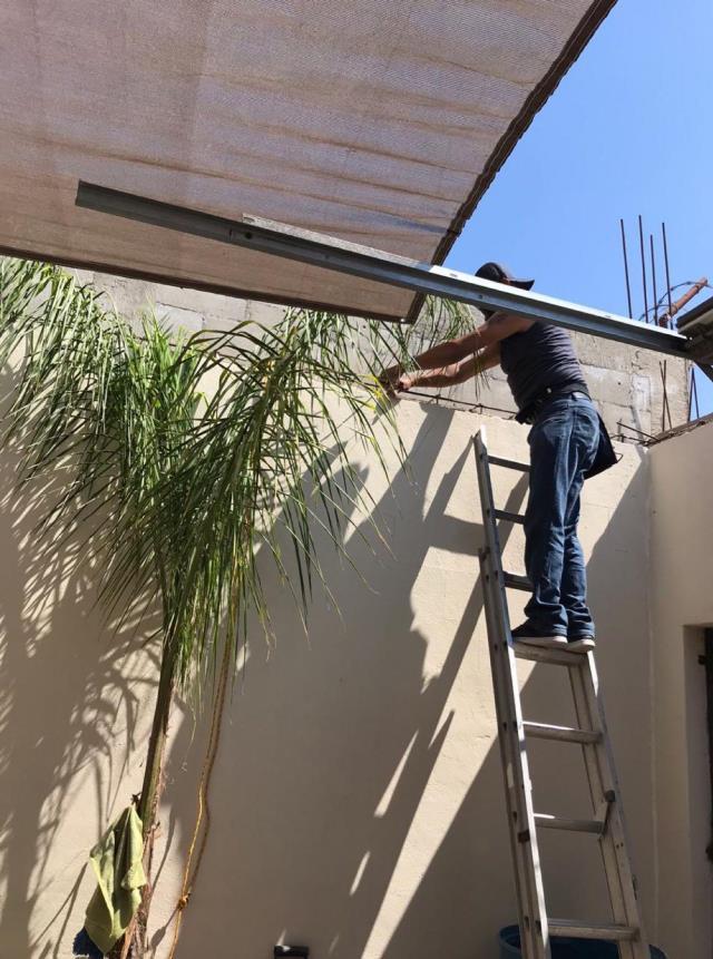 Instalación de lonas y malla sombras Tijuana