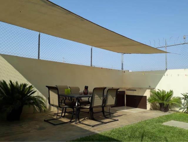 Malla sombra para casas en Tiuana
