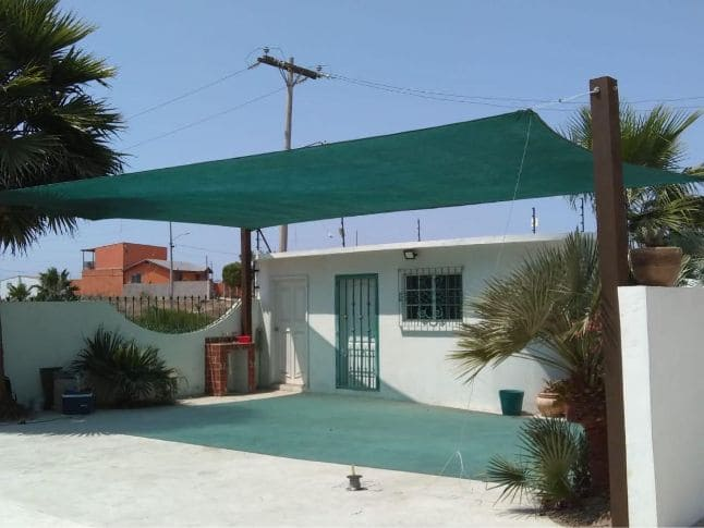 Techo de lona para patio en Tijuana