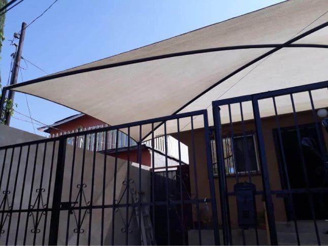 Tela para dar sombra en Tijjuana