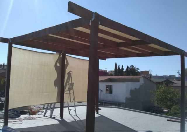 Pérgola 6x3 de madera