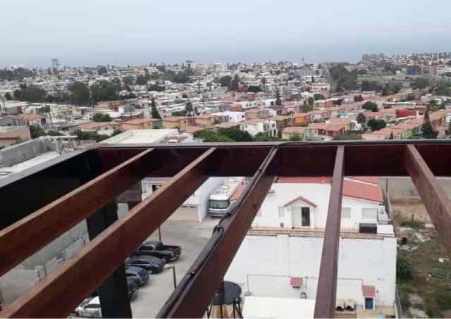 Pérgolas de madera en Tijuana para terrazas